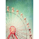 MINT Decoupagepapper Ferris Wheel 30x42cm