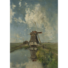 MINT Decoupagepapper Windmill 59x84cm
