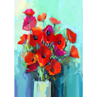 MINT Decoupagepapper Poppies 59x84cm