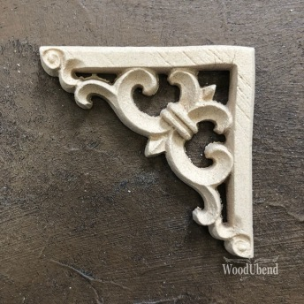 Baroque Corner WUB2099 Mått 6x6cm - Ornament hörn