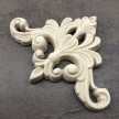 Centrepice WUB2443 Mått 7x10cm - Ornament Plume - Corner
