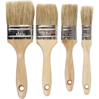 Chip Brush - Svinborst Set 4 -