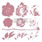 Re Design Stämpel Mystic Rose