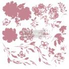 Re Design Stämpel Sweet Blossoms