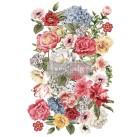 Re Design Décor Transfer Wondrous Floral II - Mått: ca 61x89cm
