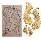 Re Design Decor Mould - Baroque Swirls