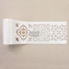 Re Design Schablon STICK & STYLE Casa Blanca Tile - Rulle ca 10cm x 13.7m