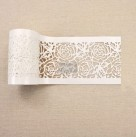 Re Design Schablon STICK & STYLE Tea Rose Garden - Rulle ca 10cm x 13.7m