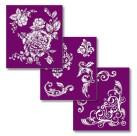 Dixie Belle Silk Screen Stencil - Floral 3st ca 20x23cm