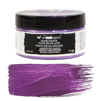 Art Extravagance Icing Paste - AMETHYST MAGIC 120ml -