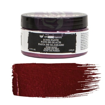 Art Extravagance Icing Paste - FIRE RUBY 120ml -