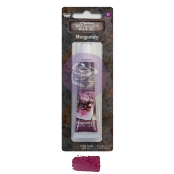 Art Alchemy Metallique Wax 20ml -  Metallisk Vaxpasta BURGUNDY -