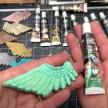 Art Alchemy Metallique Wax 20ml -  Metallisk Vaxpasta MINT SPARKLE