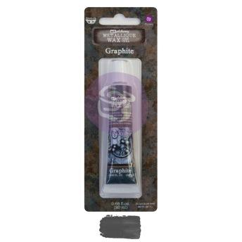 Art Alchemy Metallique Wax 20ml -  Metallisk Vaxpasta GRAPHITE -