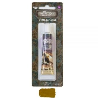 Art Alchemy Metallique Wax 20ml -  Metallisk Vaxpasta VINTAGE GOLD -