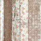 PALLET WOOD PATTERN Belles & Whistles Rice Papers: 3st ark à 30x42cm (KOPIA)
