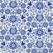 BLUE GRASS ORNATE Belles & Whistles Rice Papers: 3st ark à ca 30x32cm