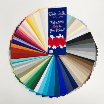 BBP - Chalk Mineral Paint - Fan Deck -
