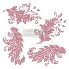 Re Design Stämpel Royal Flourish