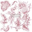 Re Design Stämpel Rustic Floral Elements