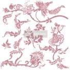 Re Design Stämpel Distressed Floral Prints
