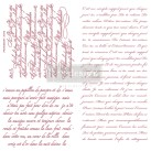 Re Design Stämpel Vintage Script
