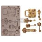 Re Design Decor Mould - Mecanical Lock & Key