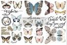 Re Design Décor Papillon Collection - Mått: ca 30x15cm