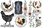 Re Design Décor Morning Farmhouse - Mått: ca 30x15cm