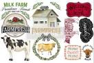 Re Design Décor Transfer Home & Farm - Mått: ca 30x15cm