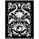 Re Design Schablon - CECE All Seeing Ikat Pattern ca 46x65cm
