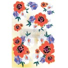Re Design Décor Transfers® - CECE Moderist Floral - Mått: ca 61x89cm