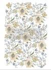 Re Design Décor Transfer - Goldenrod Florals - Mått: ca 61x89cm