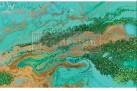 Re Design - Patina Copper 48x76cm