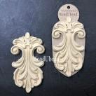 WoodUbend® Plumes 15x9cm WUB6053 (2-pack)