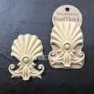 WoodUbend® Shell Plumes 9x7cm WUB6029 (2-pack)