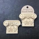 WoodUbend® Column Corbels 6x8cm WUB6079 (2-pack)