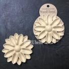 WoodUbend® Rounded Flowers Ø 10cm WUB6098 (2-pack)