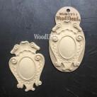 WoodUbend® Decorative Plaques 12x8.5cm WUB1711 (2-pack)