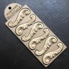 WoodUbend® Decorative Scrolls 8x2.5cm WUB1650 (6-pack)