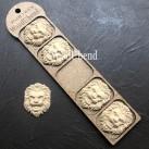 WoodUbend® Lions 4.7x3.5cm WUB1458 (5-pack)