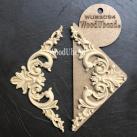 WoodUbend® Pediments (S) 15x8cm (11+11) WUB2094 (2-pack)