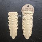 WoodUbend® Corbel Leaves 13x5cm WUB1006 (2-pack)