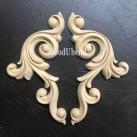 WoodUbend® Decorative Scrolls (XL) 26x13.5cm WUB1322 (2-pack)