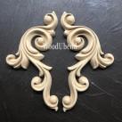 WoodUbend® Decorative Scrolls 17.5x8cm WUB1386-7 (2-pack)