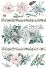 Re Design Décor Transfer - Evergreen Florals - Mått: ca 61x89cm