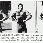 RÖRANDE SVENSKA MUSCLE BUILDER  1976 - 2