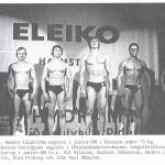 RÖRANDE 1979 - 66,U.Nilsson,A.Johansson,A.Lindström,J.Malmqvist,S.Fribeg,J-A Månsson