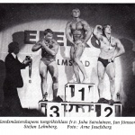 RÖRANDE TIDNINGEN HERCULES 1979-94,Lennart Stahl prisutdelare