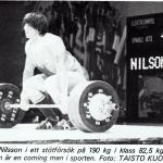 RÖRANDE TIDNINGEN NYA KRAFTSPORT 1981-63,Klaus-Göran Nilsson,WM 1981